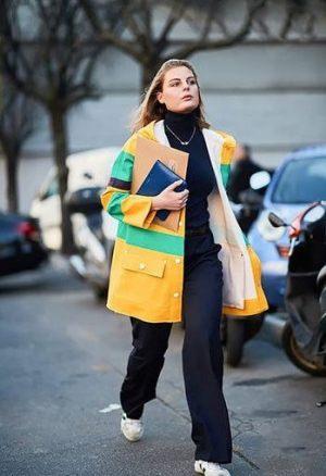 کت زرد و سبز